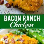 Bacon Ranch Chicken Recipe | Baked Ranch Chicken | Hidden Valley Ranch Chicken | Dry Ranch Dressing Chicken Recipe