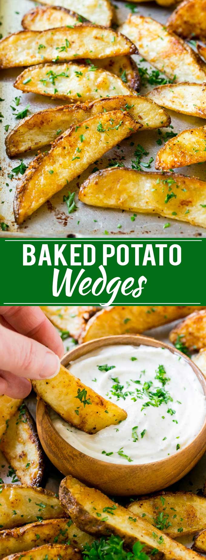 Baked Potato Wedges Recipe | Baked French Fries | Oven Fries | Oven Fried Potatoes #frenchfries #potatoes #fries #sidedish #glutenfree #dinner #dinneratthezoo