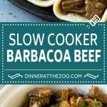 Slow Cooker Barbacoa   Beef Tacos   Crock Pot Beef Tacos #beef #tacos #crockpot #slowcooker #dinner #avocado #dinneratthezoo