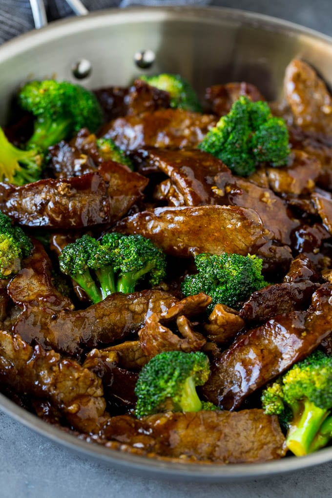 Beef And Broccoli Stir Fry Dinner At The Zoo