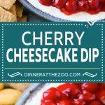 Cherry Cheesecake Dip Recipe | Dessert Dip | Cherry Cheesecake | Cheesecake Dip #cheesecake #cherry #dessert #cheesecakedip #dinneratthezoo