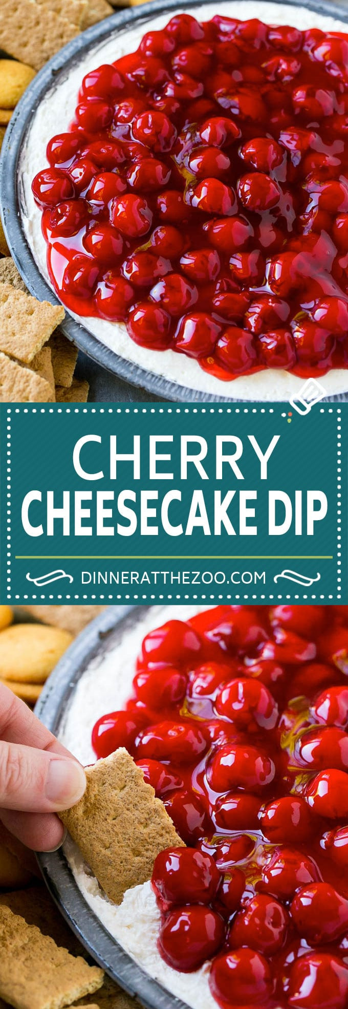 Cherry Cheesecake Dip Recipe | Dessert Dip | Cherry Cheesecake | Cheesecake Dip #cheesecake #cherry #dessert #cheesecakedip #dinneratthezoo
