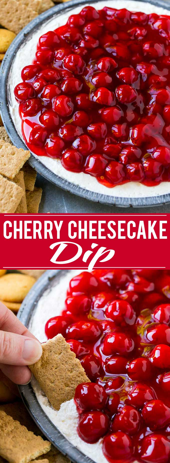 Cherry Cheesecake Dip Recipe | Dessert Dip | Cherry Cheesecake | Cheesecake Dip