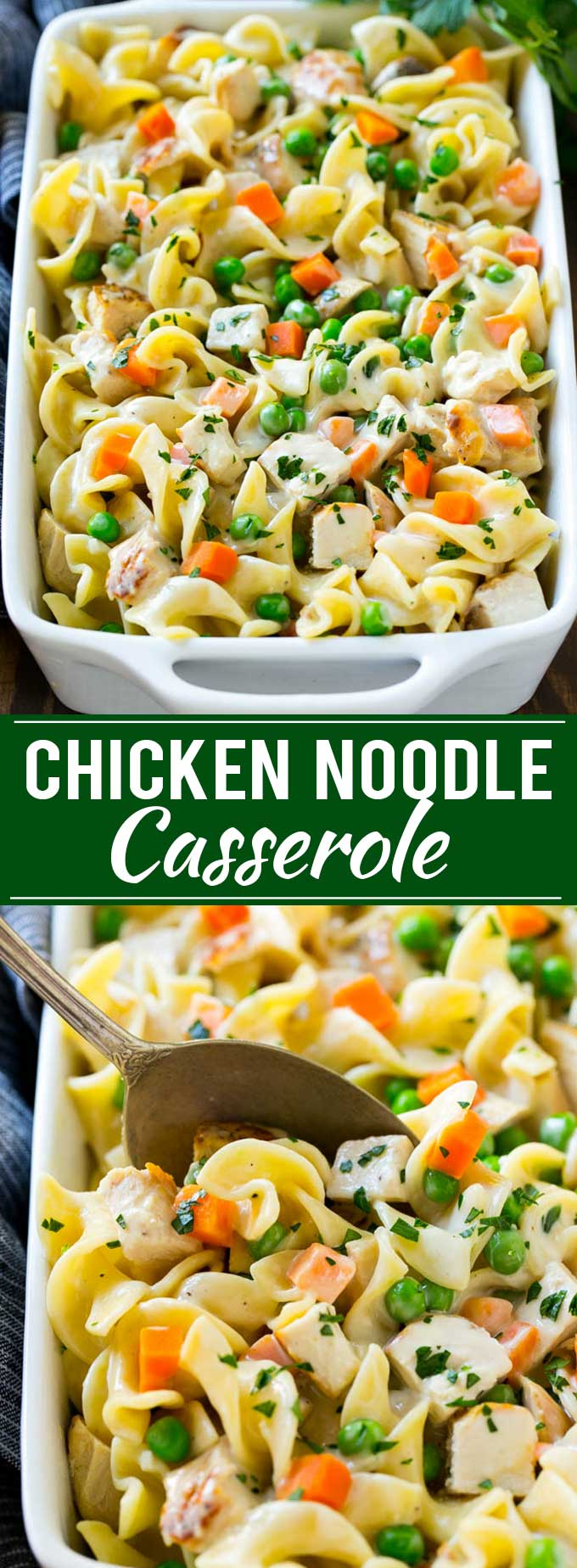 Chicken Noodle Casserole Recipe | Creamy Chicken Casserole | Cream of Chicken Soup Casserole | Noodle Casserole #casserole #chicken #noodles #dinner #pasta #dinneratthezoo