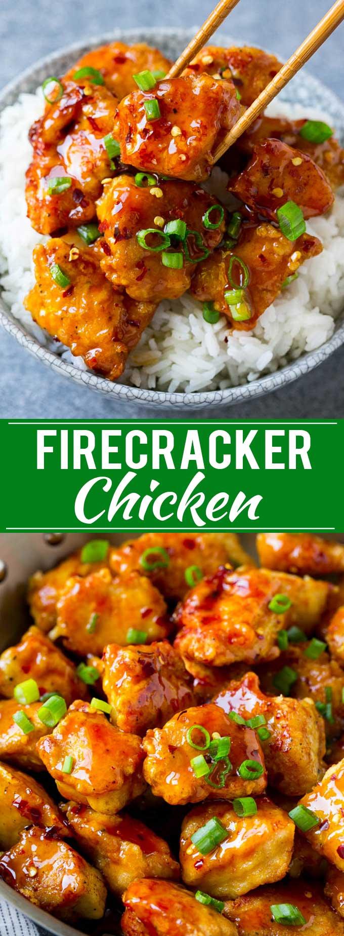 Firecracker Chicken Recipe Asian Chicken Spicy Chicken Recipe