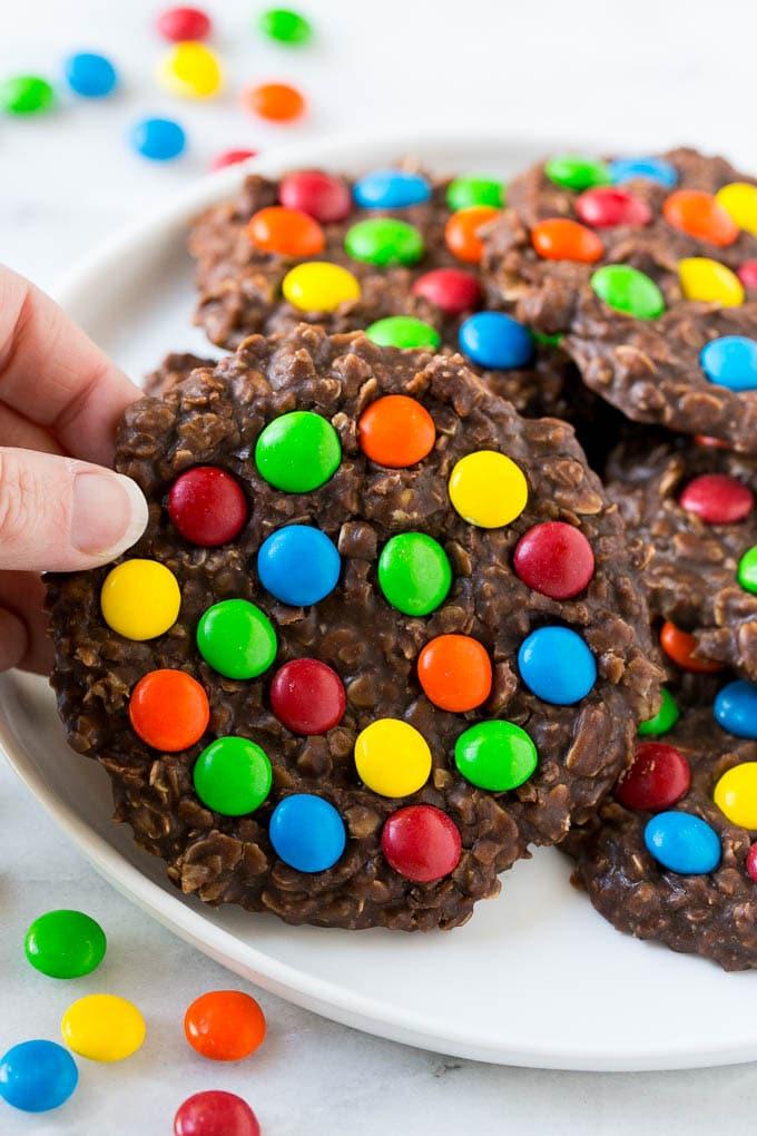 No Bake Nutella Cookies
