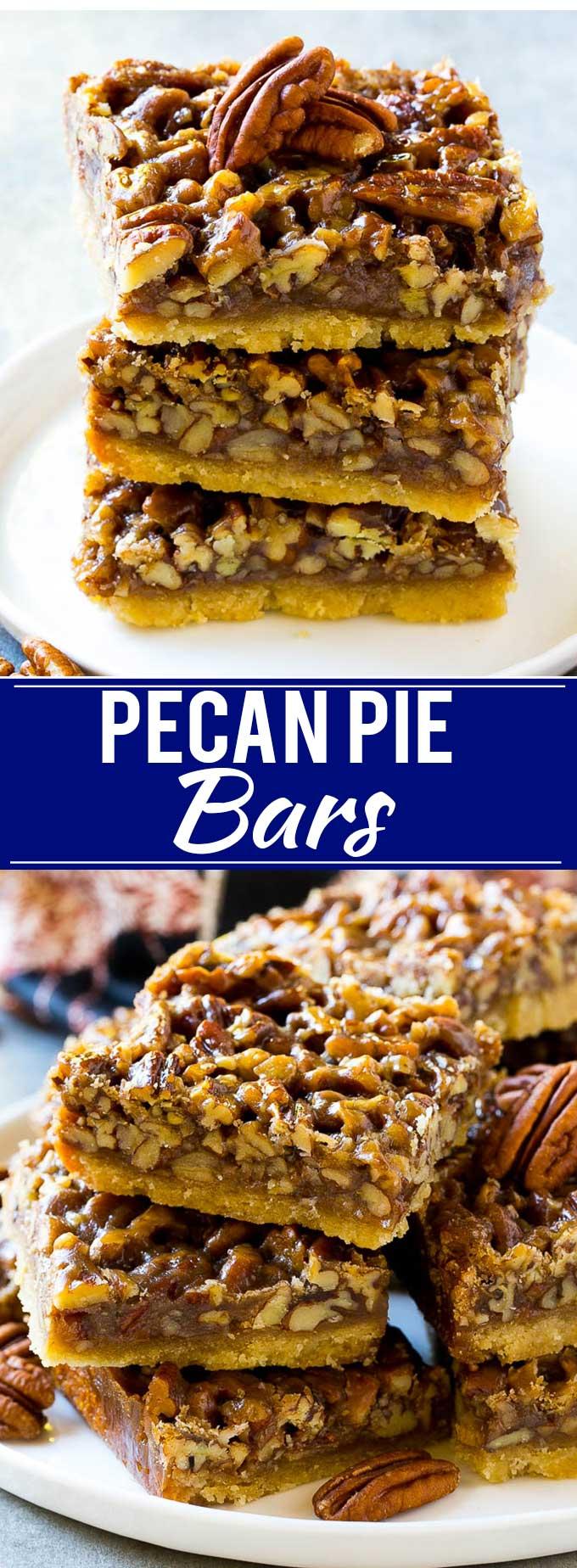 Pecan Pie Bars Recipe | Easy Pecan Pie Bars | Pecan Bars | Pecan Squares