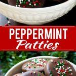 Peppermint Patties Recipe | Homemade Peppermint Patties | Peppermint Patty Recipe | York Peppermint Patty Recipe