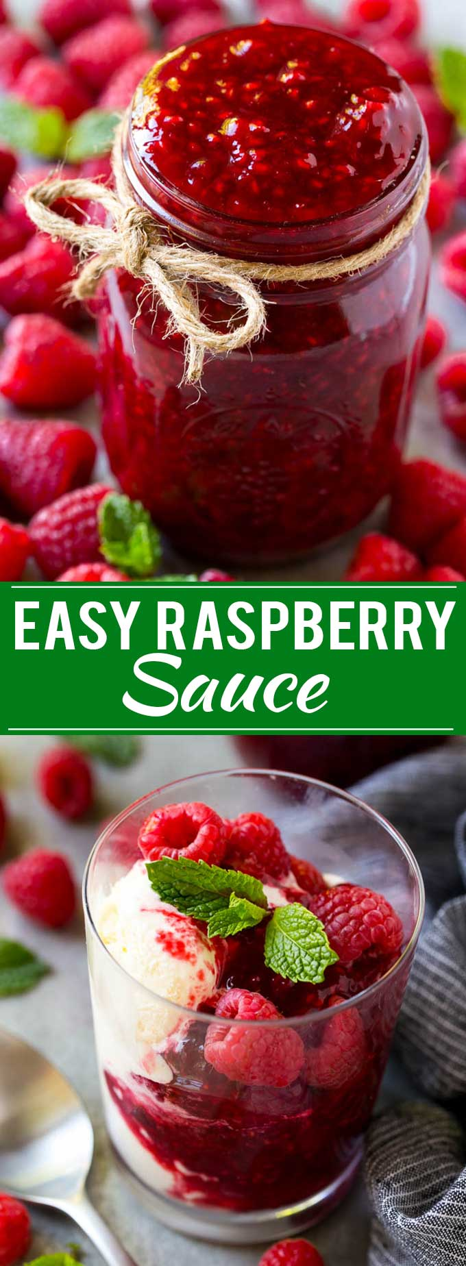 Raspberry Sauce Recipe | Homemade Raspberry Sauce | Raspberry Recipe #raspberries #dessert #dinneratthezoo