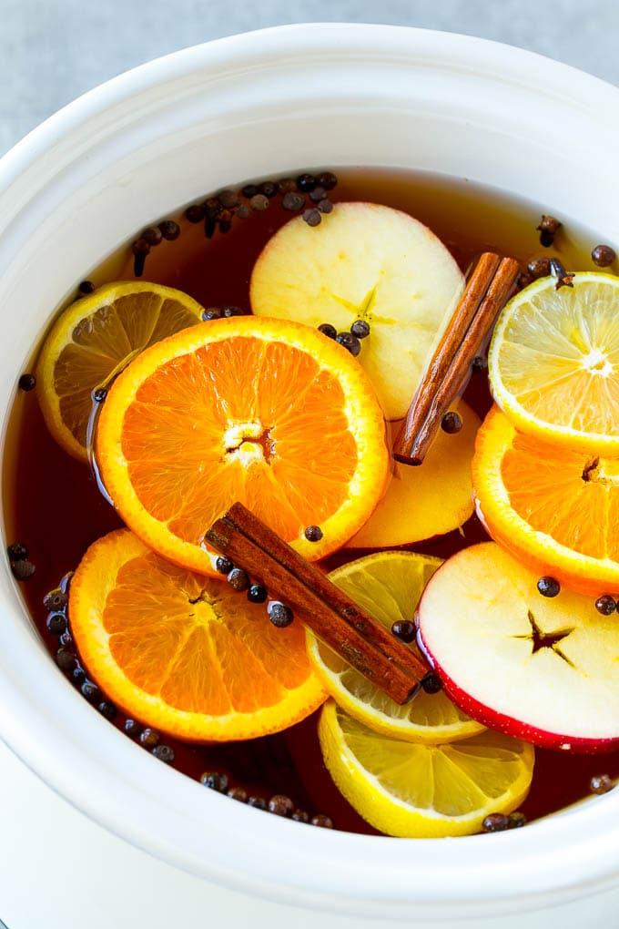 Apple Cider Recipe with Apple Juice