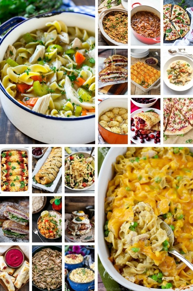 40 Fantastic Leftover Turkey Recipes Dinner At The Zoo
