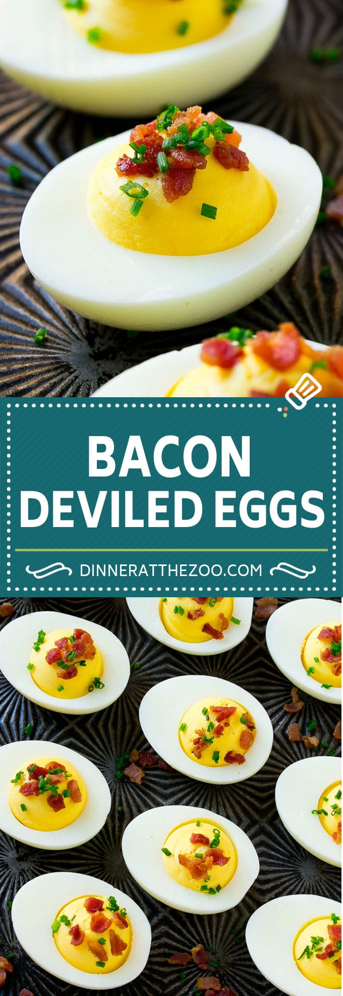 Bacon Deviled Eggs Recipe | Deviled Eggs with Bacon | Easy Deviled Eggs | Deviled Eggs with Bacon Bits
