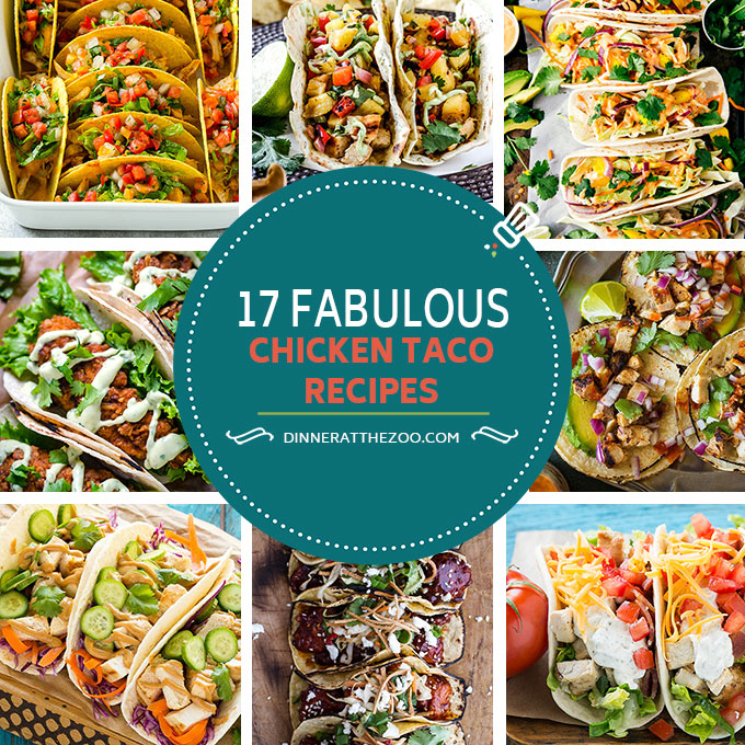 Stupendous 17 Fabulous Chicken Taco Recipes Dinner At The Zoo Download Free Architecture Designs Scobabritishbridgeorg