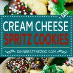 Cream Cheese Spritz Cookie Recipe | Butter Spritz Cookies | Best Spritz Cookies | Holiday Cookies | Christmas Cookies #Christmas #ChristmasCookies #SpritzCookies