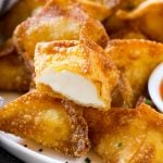 Cream Cheese Rangoons are so easy to make at home and are a fun and delicious appetizer.