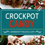 Crockpot Candy | Slow Cooker Candy | Crockpot Peanut Clusters | Chocolate Peanut Clusters