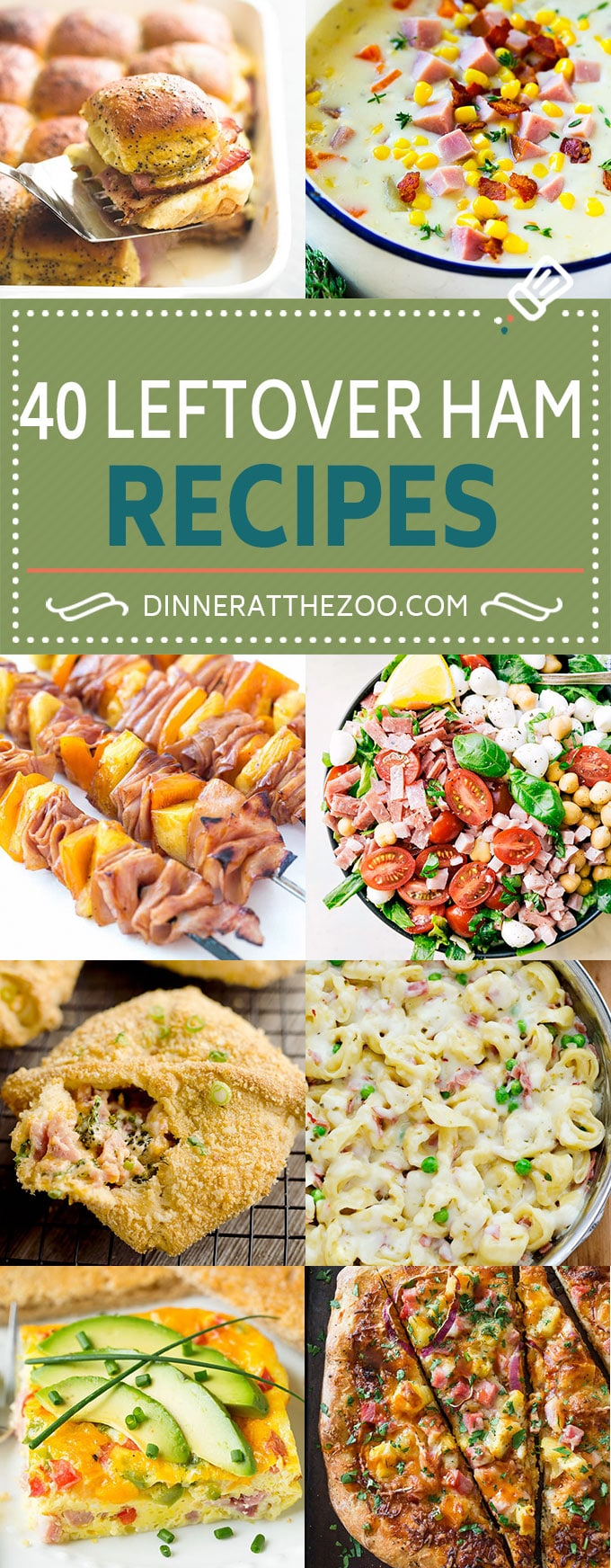 40 Satisfying Leftover Ham Recipes Dinner At The Zoo