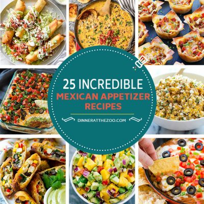 25 Incredible Mexican Appetizer Recipes