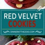Red Velvet Cookies Recipe | Red Velvet Cookies with White Chocolate Chips | Red Velvet Cake Mix Cookies #redvelvet #cookies