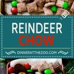 Reindeer Chow | Christmas Chex Mix | Christmas Muddy Buddies | Holiday Chex Mix