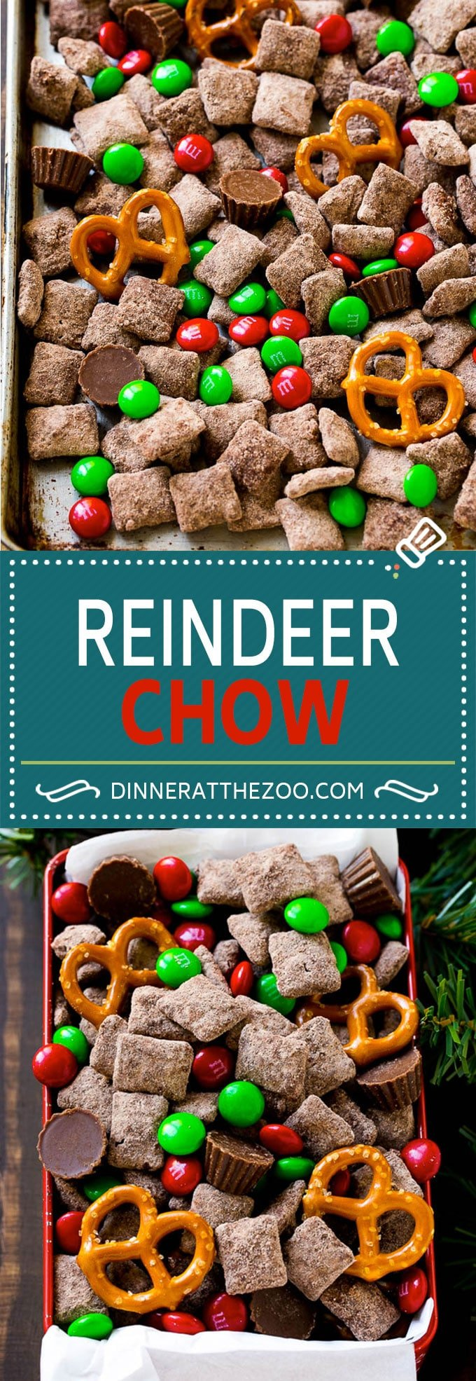 reindeer chow christmas chex mix christmas muddy buddies holiday chex mix - Christmas Puppy Chow