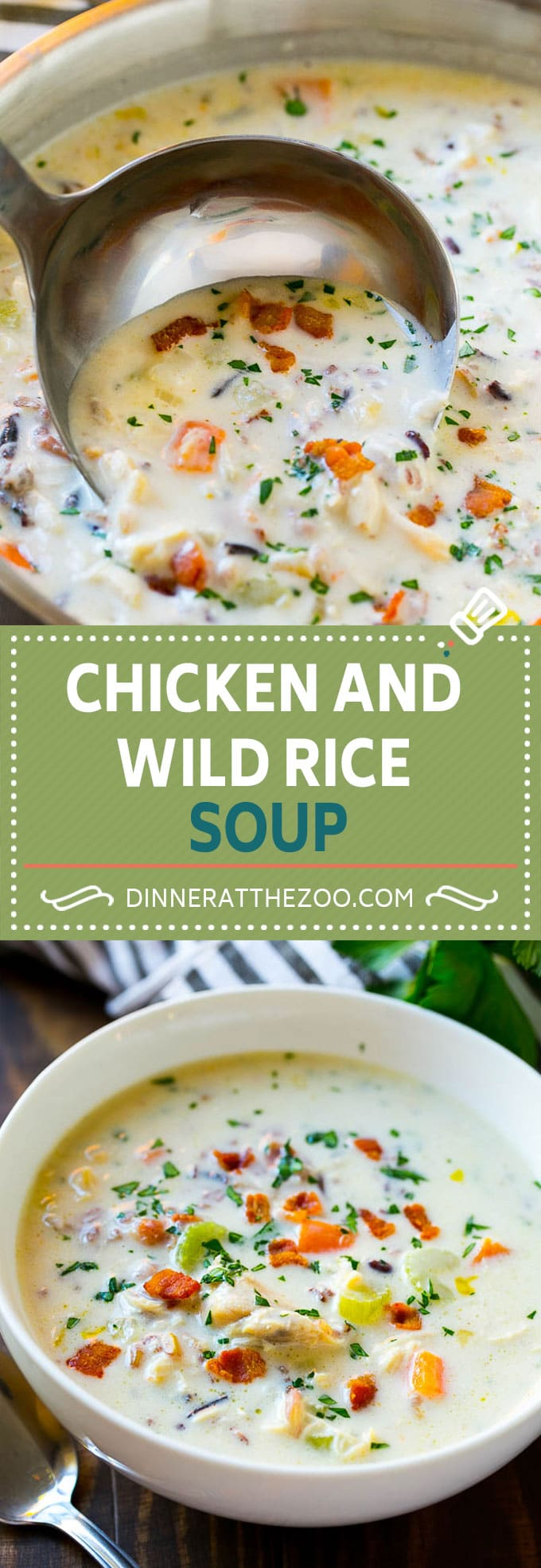 Chicken and Wild Rice Soup Recipe | Creamy Chicken Soup | Chicken and Rice Soup | Panera Bread Chicken and Wild Rice Soup #chicken #rice #wildrice #soup #dinner #dinneratthezoo