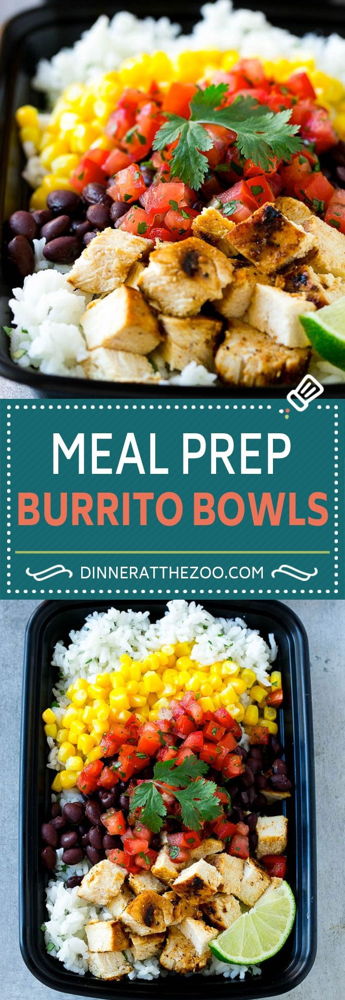 36 easy meal prep recipes dinner at the zoo meal prep burrito bowls chicken burrito bowls meal prep recipe burrito bowl recipe forumfinder