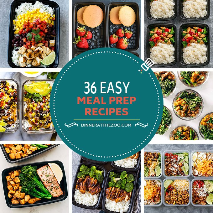 36 easy meal prep recipes dinner at the zoo 36 easy meal prep recipes forumfinder Images