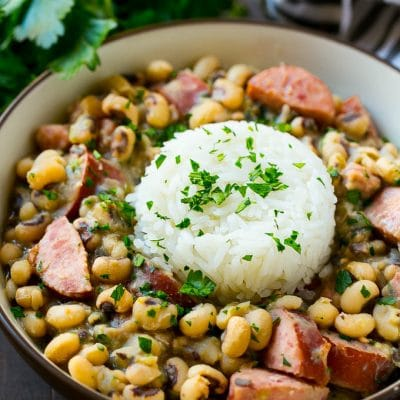 Slow Cooker Black Eyed Peas