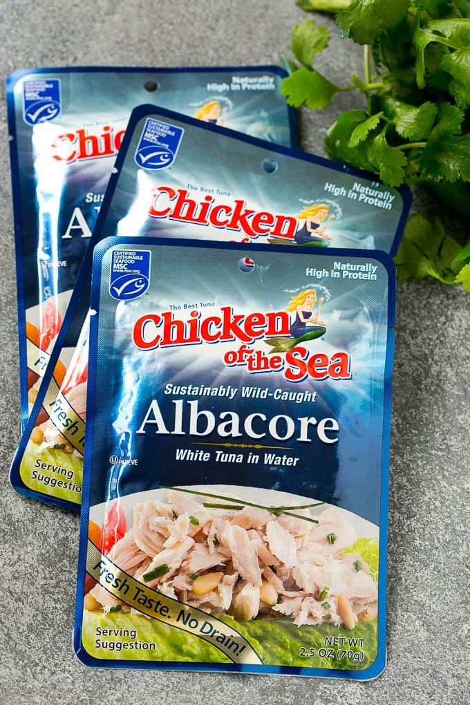Chicken of the Sea Albacore Tuna Pouches