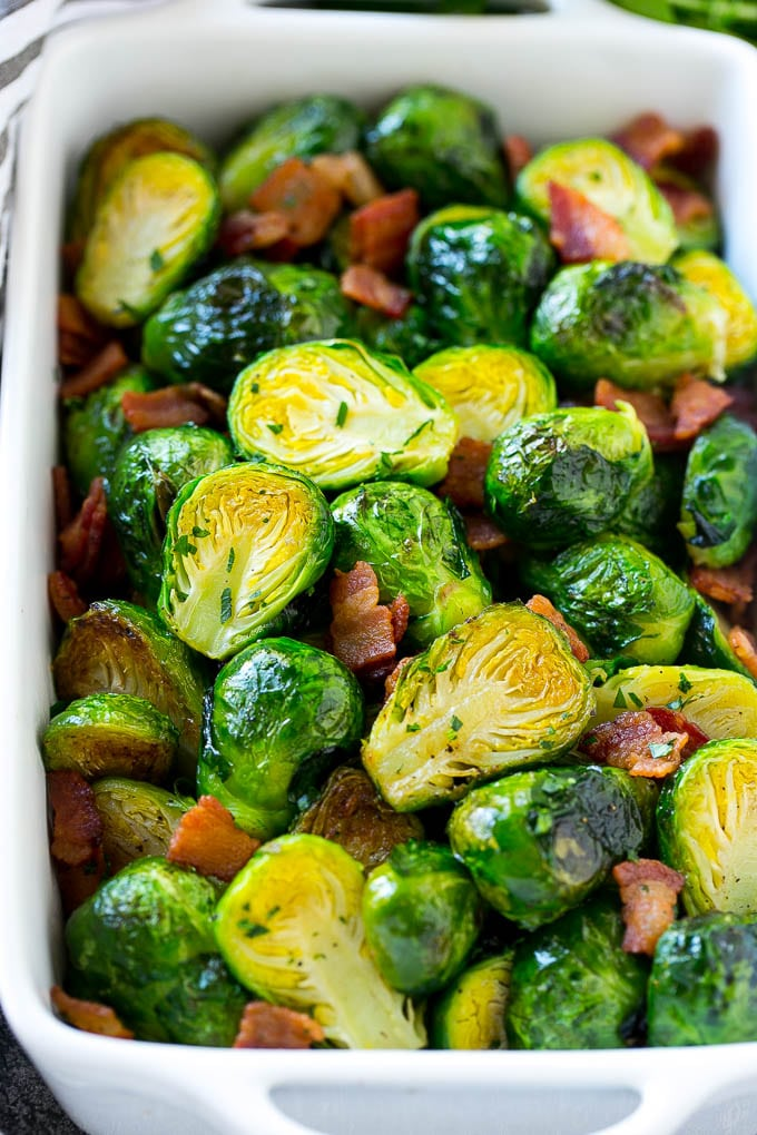 Bacon Roasted Brussels Sprouts Dinner At The Zoo