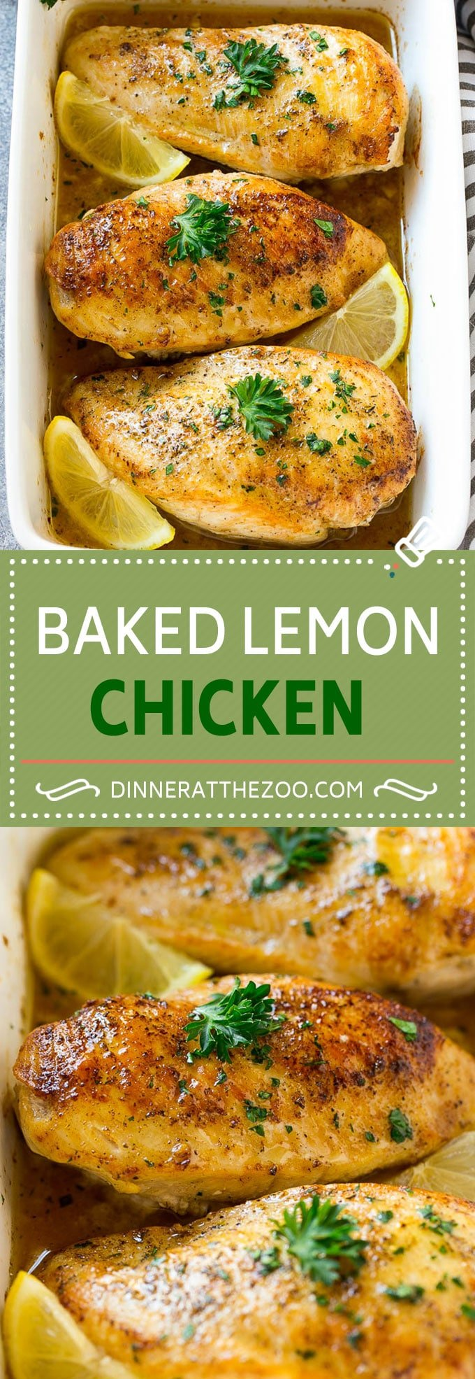 Baked Lemon Chicken Recipe | Baked Chicken Breasts | Lemon Chicken Recipe | Easy Chicken Recipe #chicken #lemon #bakedchicken #chickenbreast #lowcarb #dinner #dinneratthezoo