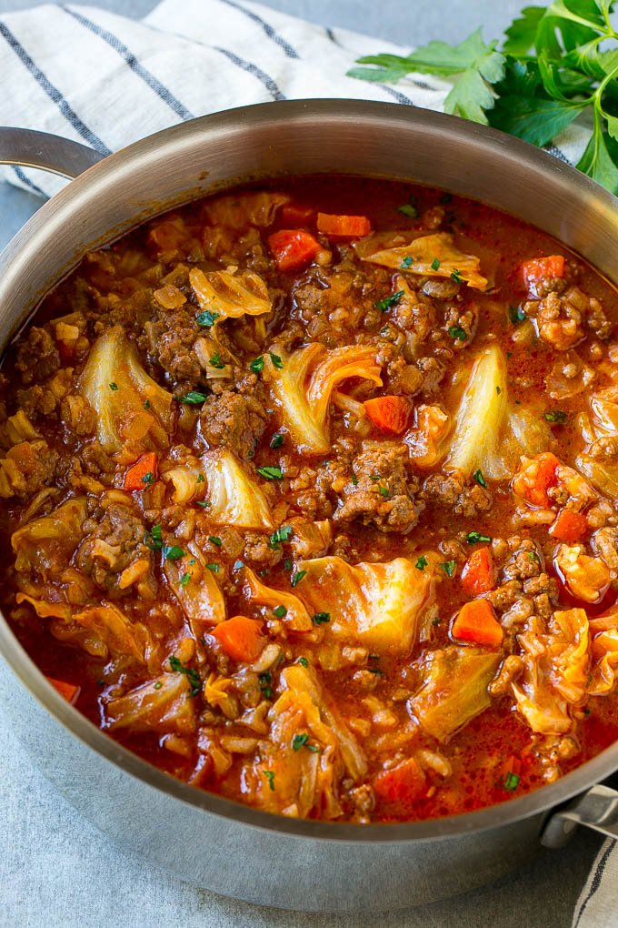 How to make hamburger soup without tomato sauce