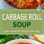 Cabbage Roll Soup Recipe | Unstuffed Cabbage Soup | Cabbage Soup Recipe | Beef and Cabbage Soup