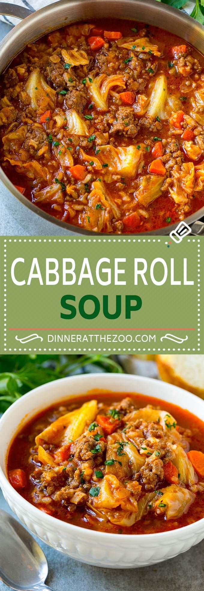 Cabbage Roll Soup Recipe | Unstuffed Cabbage Soup | Cabbage Soup Recipe | Beef and Cabbage Soup #cabbage #soup #cabbagesoup #beef #dinneratthezoo