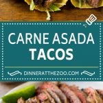 Carne Asada Tacos Recipe | Beef Tacos | Steak Tacos | Carne Asada #steak #meat #beef #tacos #avocado #dinner #dinneratthezoo