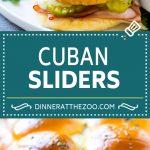 Cuban Sliders Recipe | Cuban Sandwich Recipe | Slider Sandwiches | Ham and Cheese Sliders