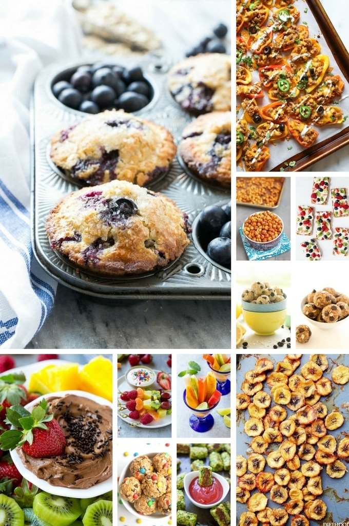 52 Healthy Snack Recipes , Dinner at the Zoo