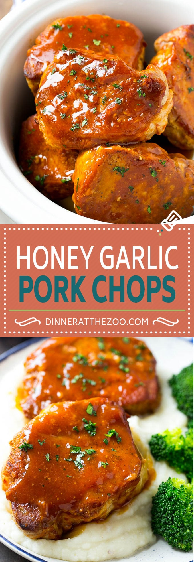 Honey Garlic Pork Chops Recipe | Slow Cooker Pork Chops | Crock Pot Pork Chops | Boneless Pork Chops Recipe #porkchops #pork #slowcooker #crockpot #dinner #dinneratthezoo