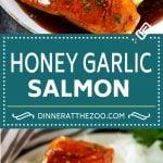 Honey Garlic Salmon Recipe | Asian Salmon Recipe | Healthy Salmon Recipe
