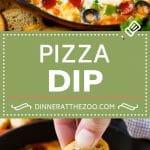Pizza Dip Recipe | Pepperoni Pizza Dip | Crustless Pizza | Supreme Pizza Dip