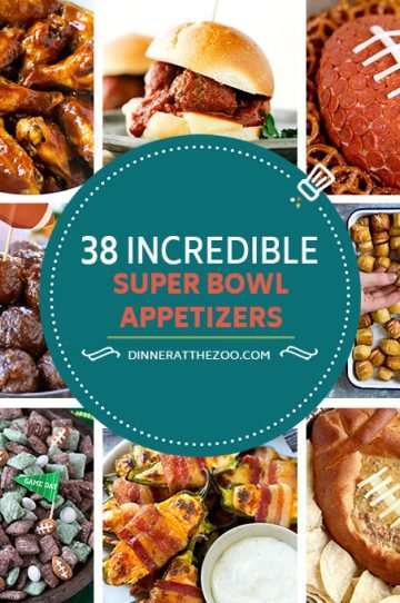 These Super Bowl Appetizer recipes will provide you with tons of options to bring your game day snacking to the next level! From the classics like chicken wings and meatballs, to cheesy dips and sandwiches, you and your guests will have plenty of fuel to get through to the final score.