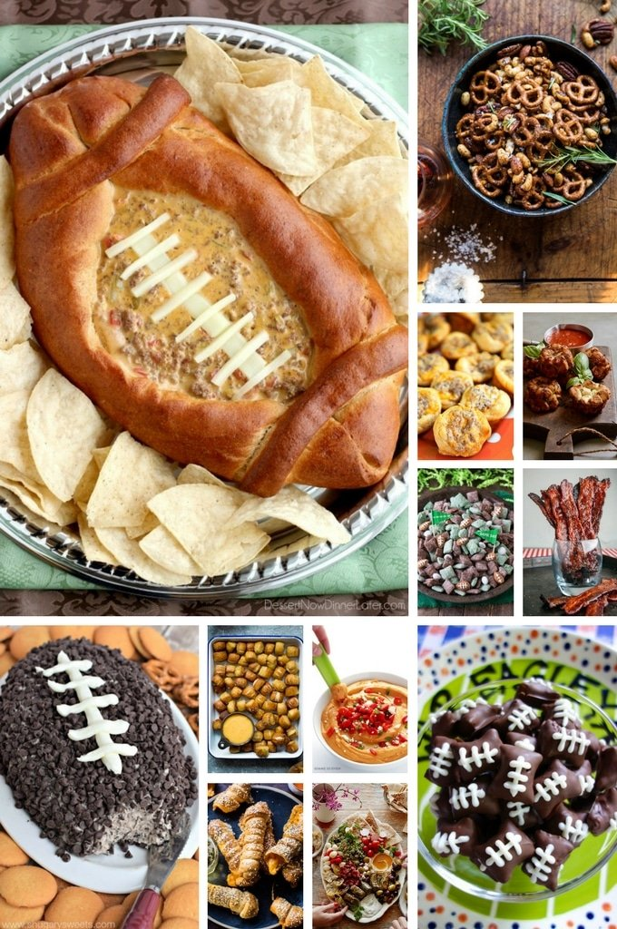 A List Of Super Bowl Etizer Recipes Including Dips Finger Foods Nut Mi And