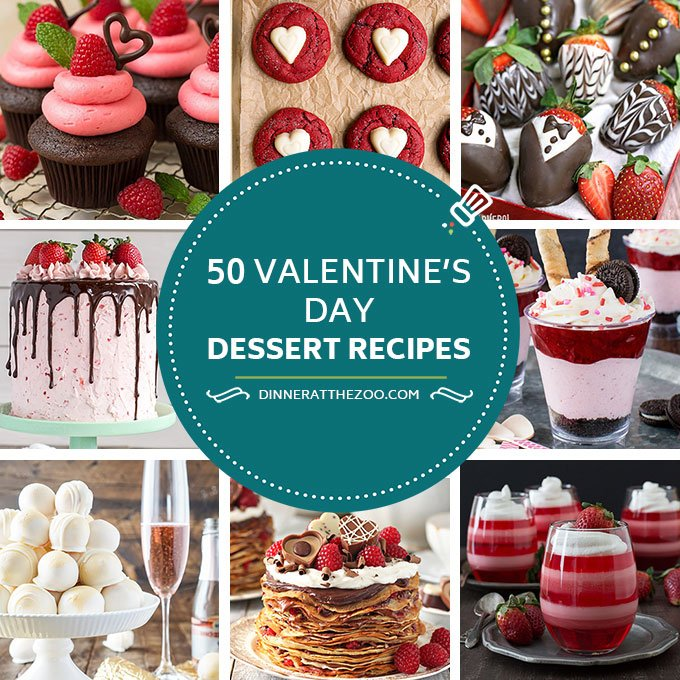 50 Valentine S Day Dessert Recipes Dinner At The Zoo