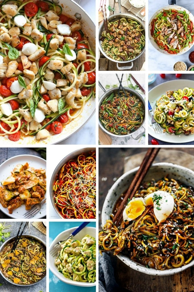 Noodle recipes including Italian style recipes, Asian recipes and more.