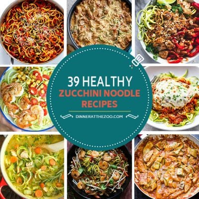 39 Healthy Zoodle (Zucchini Noodle) Recipes
