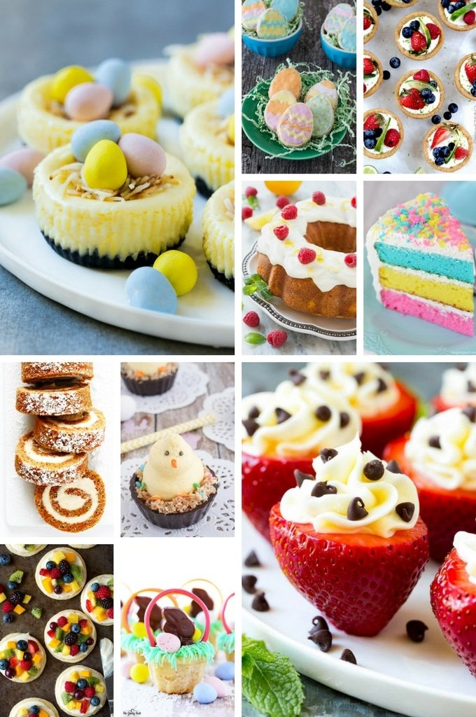 50 Festive Easter Dessert Recipes Dinner At The Zoo