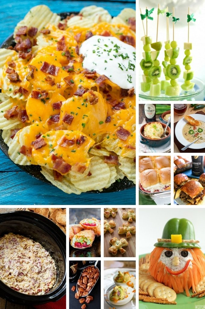 St. Patrick's Day Recipes Appetizers