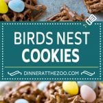 Birds Nest Cookies | Chow Mein Noodle Cookies | Easter Cookies | No Bake Cookies