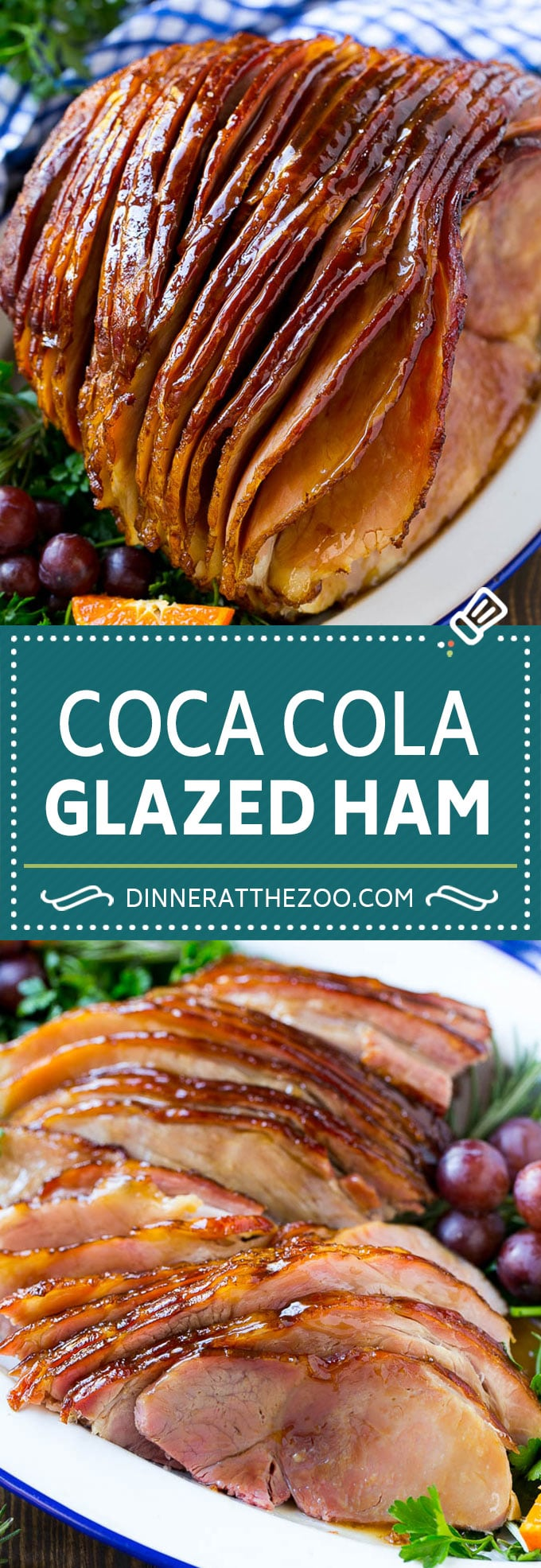 Coca Cola Ham | Coke Glazed Ham | Easter Ham | Christmas Ham | Holiday Ham Recipe #ham #easter #christmas #dinner #dinneratthezoo
